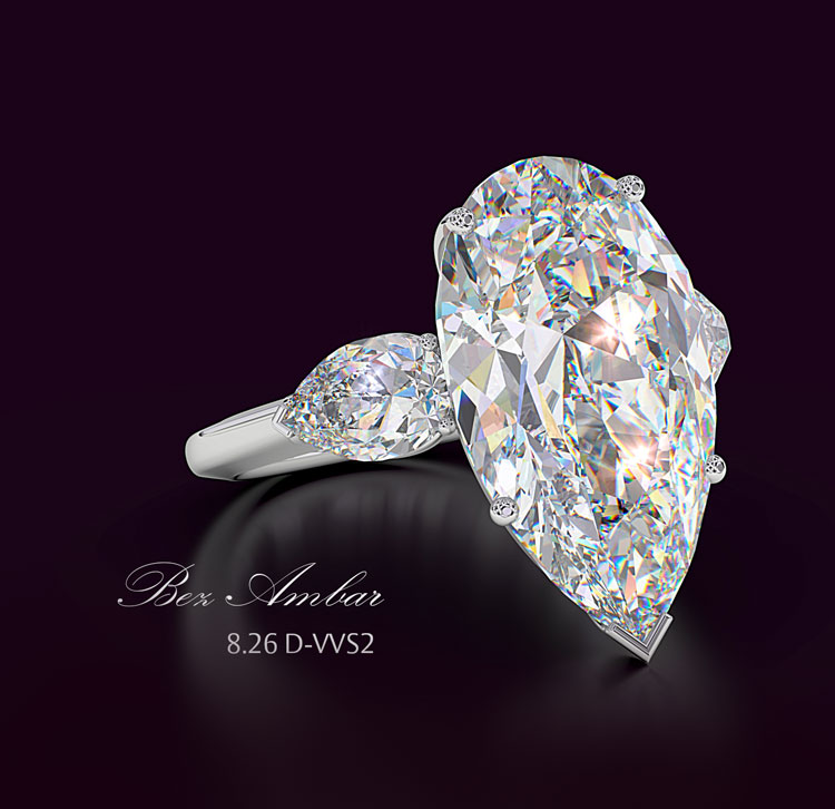 awesome carat rings diamond engagement of ring best shaped collection pear
